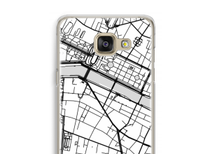 Pon un mapa de ciudad en tu funda para Galaxy A5 (2016)