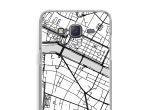 Pon un mapa de ciudad en tu funda para Galaxy J5 (2015)