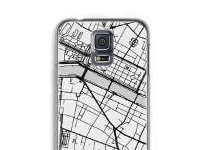Pon un mapa de ciudad en tu funda para Galaxy S5