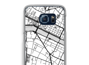 Pon un mapa de ciudad en tu funda para Galaxy S6 Edge