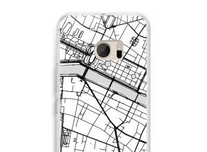 Pon un mapa de ciudad en tu funda para HTC 10