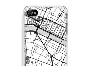 Pon un mapa de ciudad en tu funda para iPhone 4 / 4S