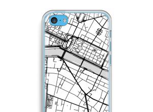 Pon un mapa de ciudad en tu funda para iPhone 5c