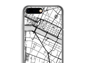 Pon un mapa de ciudad en tu funda para iPhone 7 PLUS