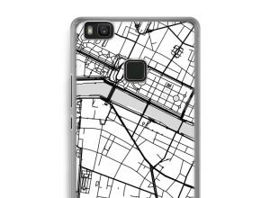 Pon un mapa de ciudad en tu funda para Ascend P9 Lite