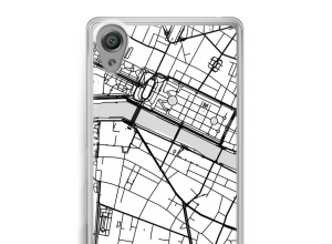 Pon un mapa de ciudad en tu funda para Xperia X