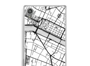 Pon un mapa de ciudad en tu funda para Xperia Z5