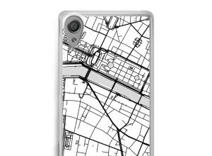 Pon un mapa de ciudad en tu funda para Xperia XA