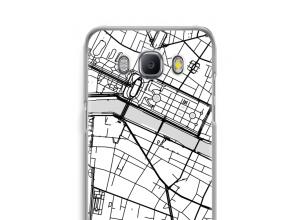 Pon un mapa de ciudad en tu funda para Galaxy J5 (2016)