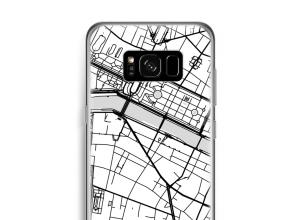 Pon un mapa de ciudad en tu funda para Galaxy S8