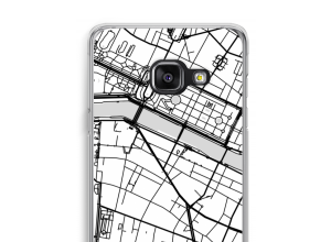 Pon un mapa de ciudad en tu funda para Galaxy A3 (2017)