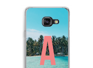 Diseña tu propia funda monograma para Galaxy A3 (2017)