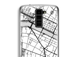 Pon un mapa de ciudad en tu funda para K10 (2016)