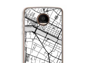 Pon un mapa de ciudad en tu funda para Moto Z Force
