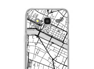 Pon un mapa de ciudad en tu funda para Galaxy J7 (2015)