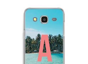 Diseña tu propia funda monograma para Galaxy J7 (2015)