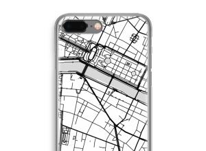 Pon un mapa de ciudad en tu funda para iPhone 8 Plus