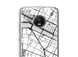 Pon un mapa de ciudad en tu funda para Moto G5
