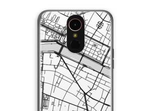 Pon un mapa de ciudad en tu funda para K10 (2017)