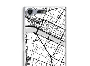 Pon un mapa de ciudad en tu funda para Xperia XZ Premium