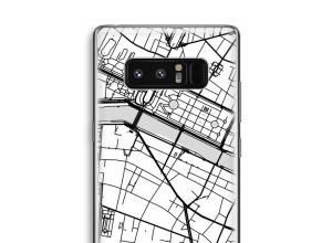 Pon un mapa de ciudad en tu funda para Galaxy Note 8