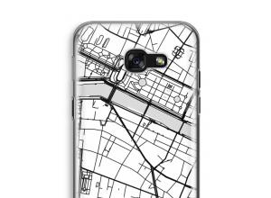 Pon un mapa de ciudad en tu funda para Galaxy A5 (2017)