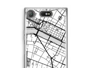 Pon un mapa de ciudad en tu funda para Xperia XZ1 Compact