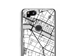 Pon un mapa de ciudad en tu funda para Pixel 2