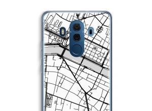 Pon un mapa de ciudad en tu funda para Mate 10 Pro