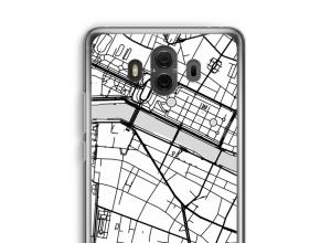 Pon un mapa de ciudad en tu funda para Mate 10