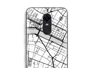 Pon un mapa de ciudad en tu funda para Redmi 5