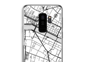 Pon un mapa de ciudad en tu funda para Galaxy S9 Plus