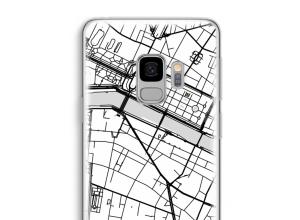 Pon un mapa de ciudad en tu funda para Galaxy S9
