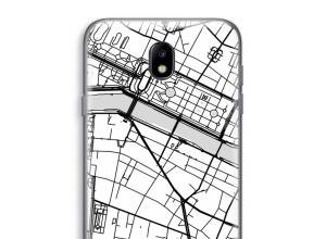 Pon un mapa de ciudad en tu funda para Galaxy J7 (2017)