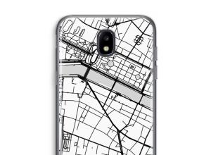 Pon un mapa de ciudad en tu funda para Galaxy J5 (2017)