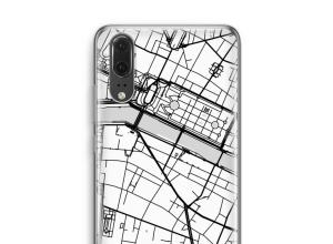 Pon un mapa de ciudad en tu funda para P20