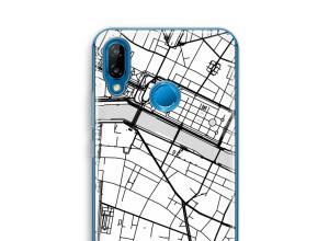 Pon un mapa de ciudad en tu funda para P20 Lite