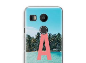Diseña tu propia funda monograma para Nexus 5X