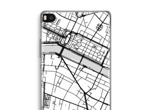 Pon un mapa de ciudad en tu funda para Ascend P8