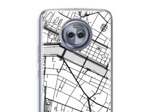 Pon un mapa de ciudad en tu funda para Moto X4