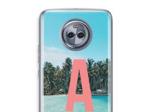 Diseña tu propia funda monograma para Moto X4