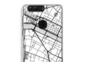 Pon un mapa de ciudad en tu funda para Honor 8