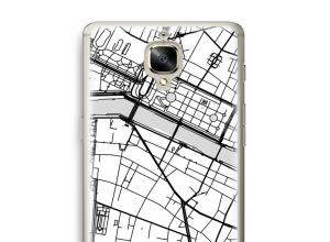 Pon un mapa de ciudad en tu funda para OnePlus 3