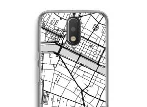 Pon un mapa de ciudad en tu funda para Moto G4 / G4 Plus