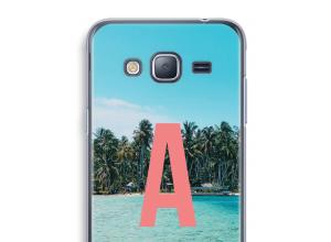 Diseña tu propia funda monograma para Galaxy J3 (2016)