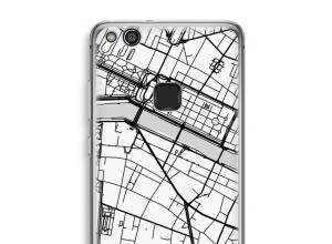 Pon un mapa de ciudad en tu funda para Ascend P10 Lite