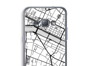 Pon un mapa de ciudad en tu funda para Galaxy J1 (2016)