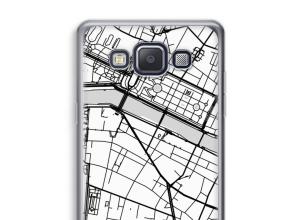 Pon un mapa de ciudad en tu funda para Galaxy A3 (2015)