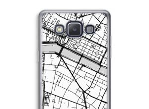 Pon un mapa de ciudad en tu funda para Galaxy A5 (2015)