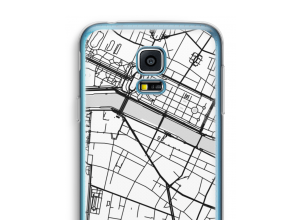Pon un mapa de ciudad en tu funda para Galaxy S5 mini